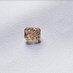 Loose Golden Yellow 0.96ct Light Yellow Moissanite