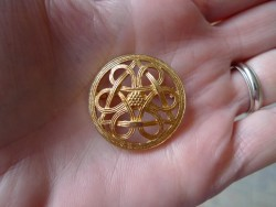 "rare Kalevala Koru 14k ""Knot of Fate"" Brooch"