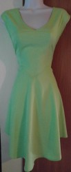 Green Cutout Dress Size M