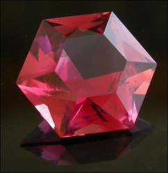 1.89ct Nigerian Pink Tourmaline cut by Rick Martin