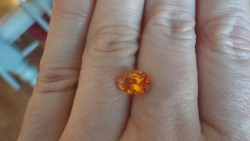 2.33ct Mandarin Orange Spessartite Garnet, Namibia