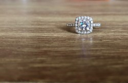 1 3/8 Forever One® 1 3/8 ct. tw. Moissanite Halo